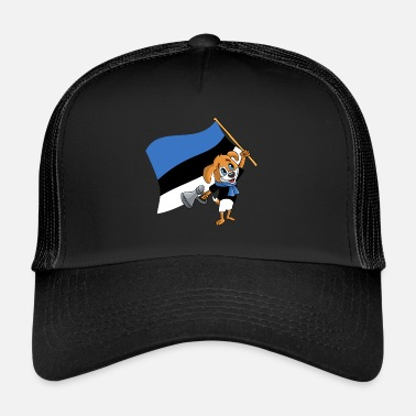 Fan Fan fan dell'Estonia - Cappello trucker