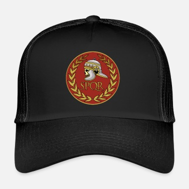 Ossa Incrociate Roma teschio e ossa incrociate - Trucker Cap