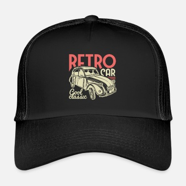 Vintage Collection Retro Car - Classic ! - Trucker Cap