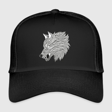 Halloween Loup design - Trucker Cap