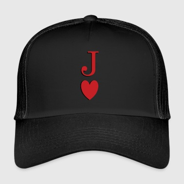 Jack of Clubs - Jack of Heart - Reveal - Trucker Cap