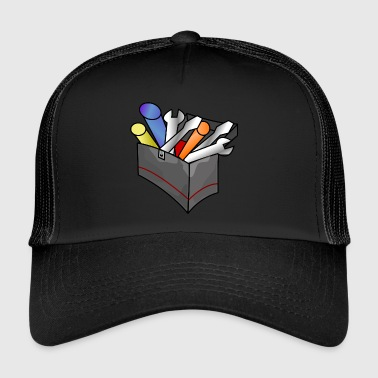 Toolbox with content gift - Trucker Cap