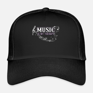 Clef Music clef notes gift - Trucker Cap