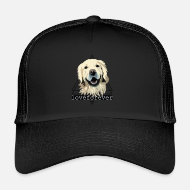 Golden Retriever RETRIEVER LOVE FOREVER - Trucker Cap