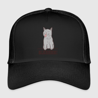 Naughty cat - Trucker Cap