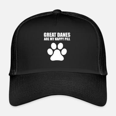 Perro perro pata perro amantes pata regalo de impresión - Gorra trucker 1de0a77287c