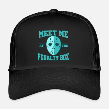 Puck Hockey Puck - Trucker Cap