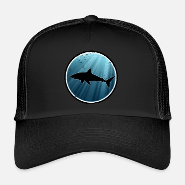 Grand Requin Blanc Grand requin blanc grand requin blanc - Trucker Cap