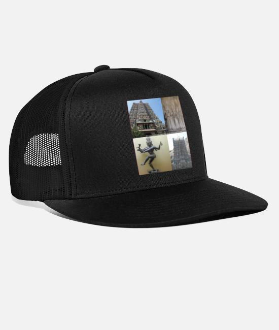 Panorama Caps & Hats - INDIA - Trucker Cap black/black