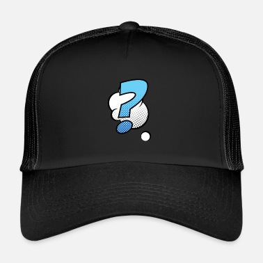 Comic Comic Comic Style Comic Comics - Trucker Cap