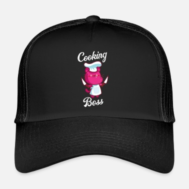 Cuir Cuire le chat - Trucker Cap