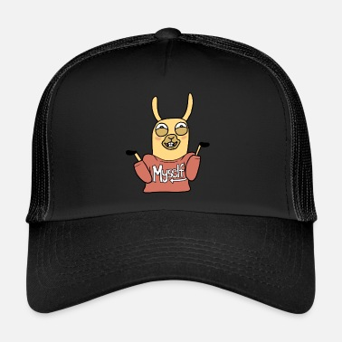 Myself Lama Myself - Trucker Cap