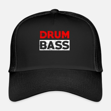 Drumnbass Drum n Bass party music - Drumnbass - Trucker Cap