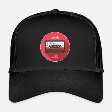 Audio Kassette Kassette - Analog Audio Power - Trucker Cap