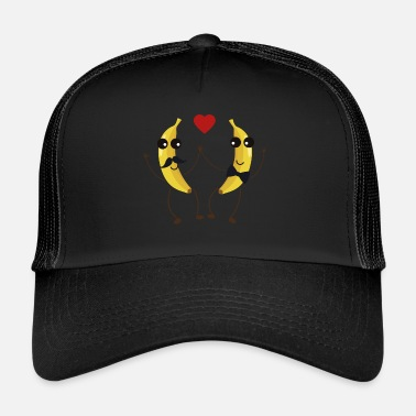 Funny &amp The Bananas lovers - Trucker Cap