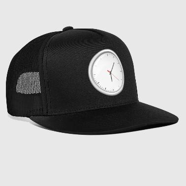 Uhr Illustration - Trucker Cap