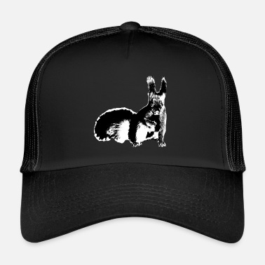 Squirrel Squirrel - Trucker Cap