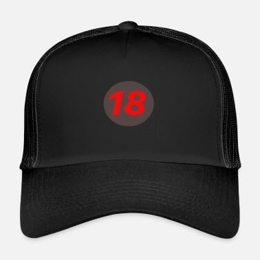 18 Plus 18 - Trucker Cap