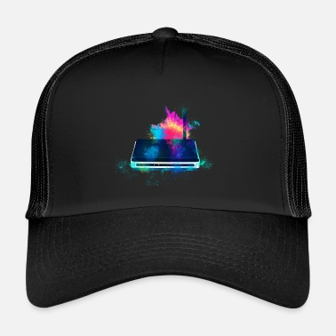 Router wireless colorato - Trucker Cap
