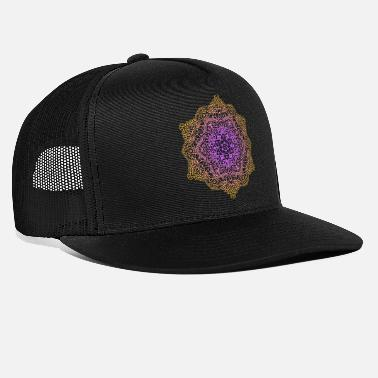 Ornament Stern Blumen Mandala Ornament - Trucker Cap