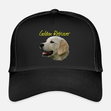 Golden Retriever Golden Retriever, Retriever, sport rasy psów, pies, - Trucker Cap