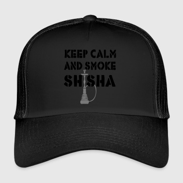 KEEP CALM AND SMOKE SHISHA - Trucker Cap
