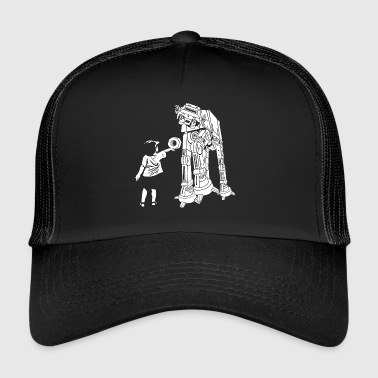 ATAT is bekleed - The Empire heeft honger - Trucker Cap