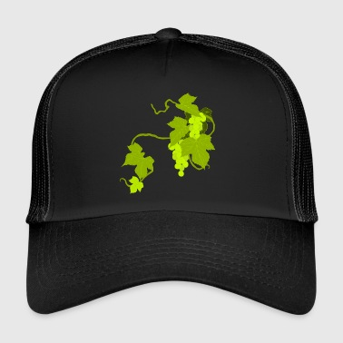 raisins vin raisins fruits raisins fruechte12 - Trucker Cap