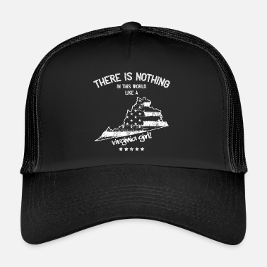 Virginia Beach Etats-Unis: Rien dans un cadeau de Virginia State Girl - Trucker Cap
