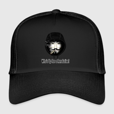 Who's Up For a Revolution - Trucker Cap