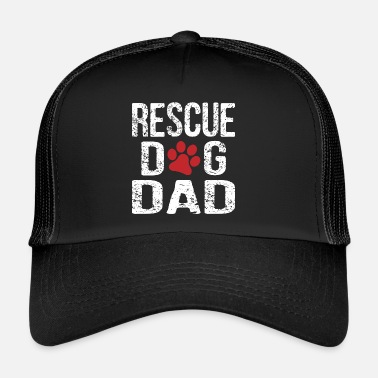 Rescue Rescue Dog Dad - Trucker Cap