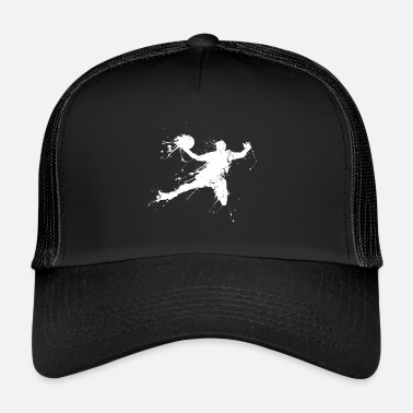 Slam Dunk Slam dunking basketball player - Trucker Cap