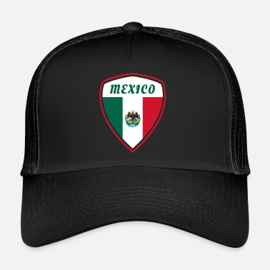 Central America Mexico emblem flag Central America gift - Trucker Cap