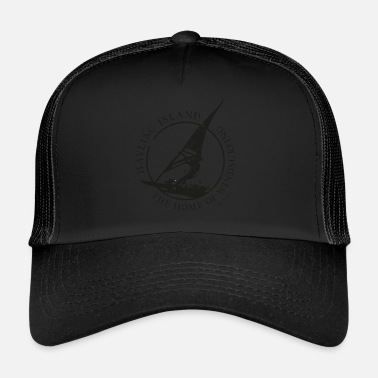 windsurfer black - Trucker Cap
