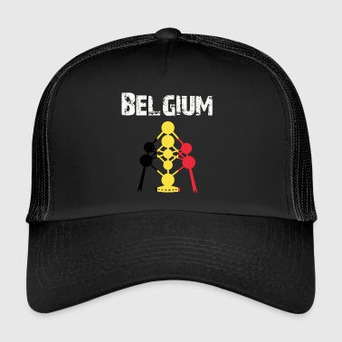 Nation-Design Belgique Atomium brwGB - Trucker Cap