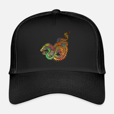 Chinese Dragon Chinese dragon - Trucker Cap