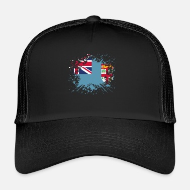 Fiji home country roots roots love fiji png - Trucker Cap