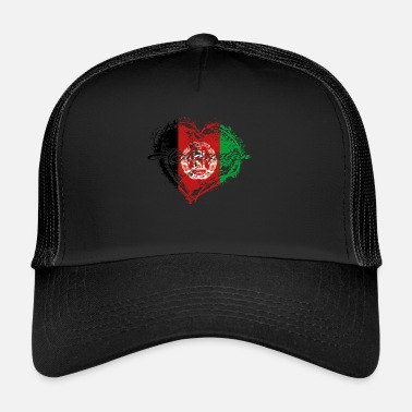Afghanistan HOME ROOTS COUNTRY POISON LOVE Afghanistan - Trucker Cap
