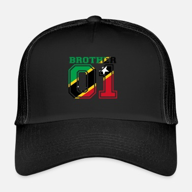 Brother From Another Mother brat brat króla 01 St Kitts i Nevis - Trucker Cap
