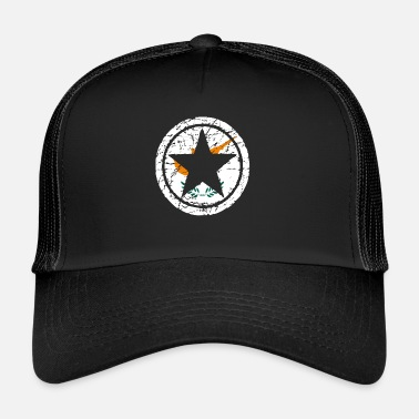 Cyprus roots love star heart homeland Cyprus png - Trucker Cap