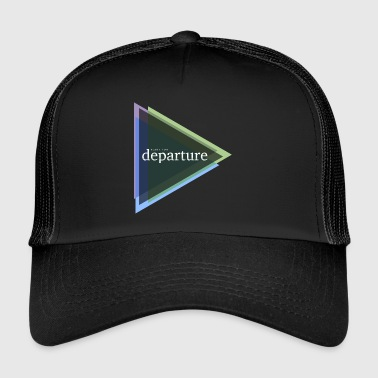 ready for departure - Trucker Cap