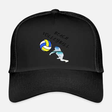 Beachvolleyball Beach Volleyball Mannschaft Strand Team Ballsport - Trucker Cap