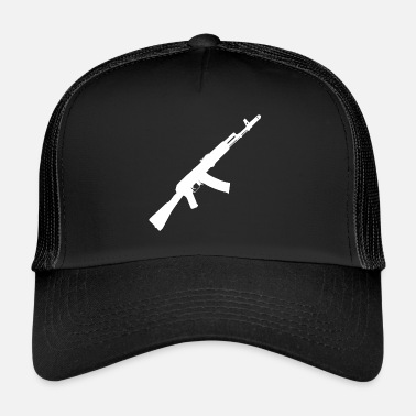 Assault Rifle AK-47 Rifle assault rifle - Trucker Cap
