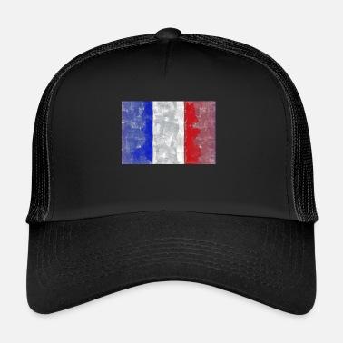 Bandiera Francese Bandiera francese tricolore - Cappello trucker 23428702bfdf