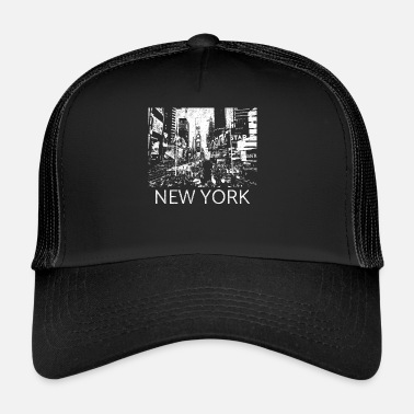 Central Park New York Times Square Metropolis cadeau Manhattan - Trucker Cap