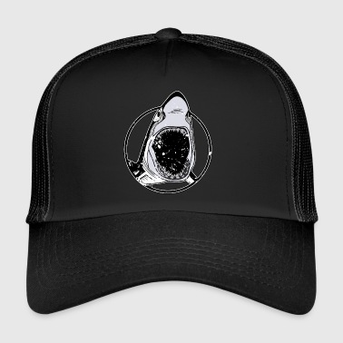 Grand requin blanc - Trucker Cap