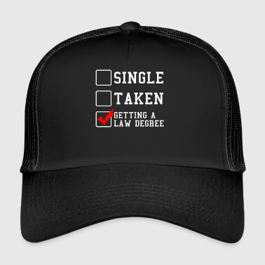 law - Trucker Cap