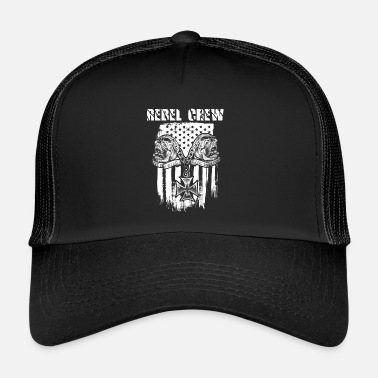 Rebel Lippu Rebel Crew Biker Edition - Trucker Cap