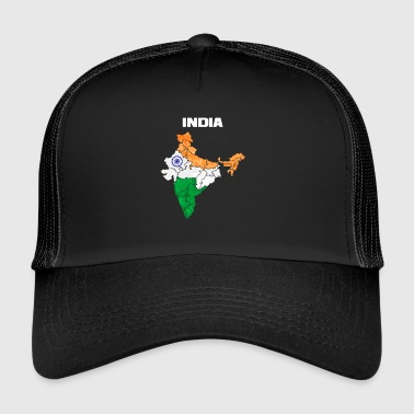 Hindi India Indian Indian Gift Hinduism Hindi - Trucker Cap