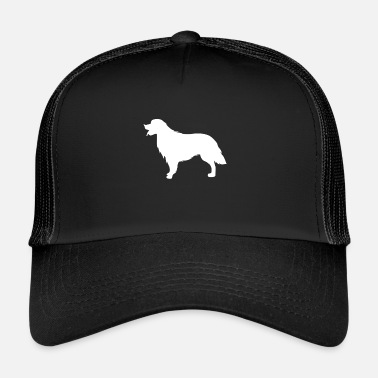 Retriever Golden Retriever Silhouette Sweet Gift Wuff - Trucker Cap